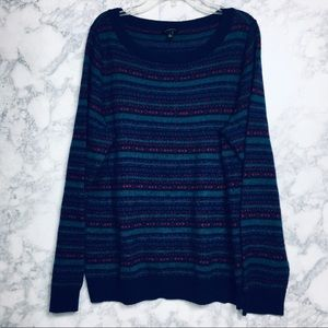 Talbots Stripe Sweater